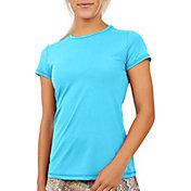 Sofibella Women's UV Colors Short Sleeve Shirt
