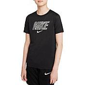 Nike Boys' Dri-FIT Trophy Swoosh Training T-Shirt