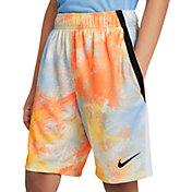Nike Boys' Dri-FIT Tie Dye Training Shorts – Extended Sizes