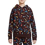 Nike Boys' Sportswear Club Printed Pullover Hoodie
