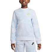 Nike Boys' Sportswear Magic Club Tie Dye Crewneck Sweatshirt