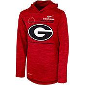 Nike Youth Georgia Bulldogs Red Velocity Hoodie