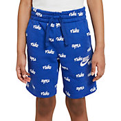 Nike Boys' Sportswear Fleece All Over Print Script Shorts