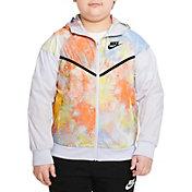 Nike Boys' Sportswear Windrunner Tie-Dye Jacket