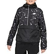 Nike Boys' Sportswear Woven Printed Anorak Jacket