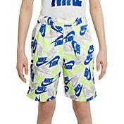 Nike Boys' Sportswear Printed Woven Shorts