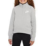 Nike Girls' Sportswear Club Fleece 1/2-Zip Pullover