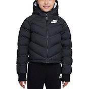 Nike Girls' Sportswear Synthetic Fill Hooded Jacket