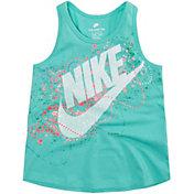 Nike Little Girls' Bubbles Futura A-Line Tank Top