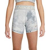 "Nike Girls' Pro Sky-Dye 3"" Shorts"