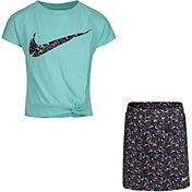 Nike Little Girls' Sprinkle T-Shirt and Skort Set