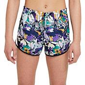 Nike Girls' Dri-FIT Studio 50 Floral Tempo Shorts
