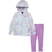 Nike Toddler Girls' Therma Full-Zip Hoodie and Leggings Set
