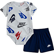 Nike Infant Boys' Futura Printed Bodysuit and Shorts Set