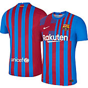 Nike Men's FC Barcelona '21 Vapor Authentic Match Home Jersey