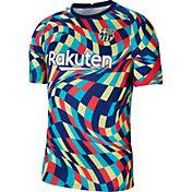 Nike Men's FC Barcelona Blue Prematch Jersey