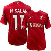 Nike Liverpool FC Mohamed Salah #11 Breathe Stadium Home Replica Jersey