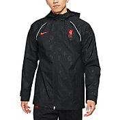 Nike Men's Liverpool FC Grey AWF GX Jacket