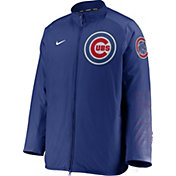 Nike Men's Chicago Cubs Blue Authentic Collection Dugout Full-Zip Jacket
