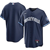 Nike Men's Chicago Cubs Navy 2021 City Connect Cool Base Jersey