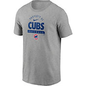 Nike Men's Chicago Cubs Grey 'Property Of' T-Shirt