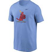 Nike Men's St. Louis Cardinals Powder Blue Logo T-Shirt