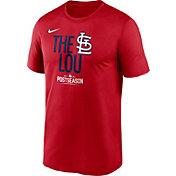 Nike Men's St. Louis Cardinals 2021 Postseason Authentic Collection 'The Lou' T-Shirt
