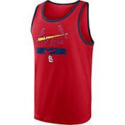 Nike Men's St. Louis Cardinals Red Cotton Tank Top