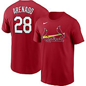 Nike Men's St. Louis Cardinals Nolan Arenado #28 Red T-Shirt