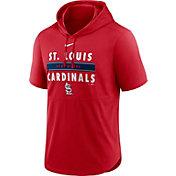 Nike Men's St. Louis Cardinals Red Lightweight Hooded Pullover T-Shirt
