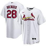 Nike Men's St. Louis Cardinals Nolan Arenado #28 Replica Cool Base White Jersey