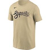Nike Men's Arizona Diamondbacks Gold 2021 City Connect Wordmark T-Shirt