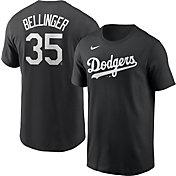Nike Men's Los Angeles Dodgers Cody Bellinger #35 Black T-Shirt