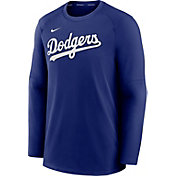 Nike Men's Los Angeles Dodgers Royal Authentic Collection Pre-Game Long Sleeve T-Shirt