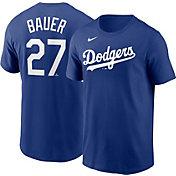 Nike Men's Los Angeles Dodgers Trevor Bauer #27 Royal T-Shirt