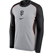 Nike Men's San Francisco Giants Black Authentic Collection Game Long Sleeve T-Shirt