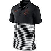 Nike Men's San Francisco Giants Stripe White Polo