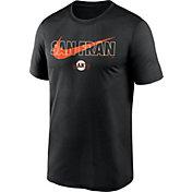 Nike Men's San Francisco Giants Black Swoosh Legend T-Shirt