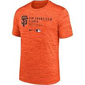 Nike Men's San Francisco Giants Orange Authentic Collection Velocity Practice T-Shirt