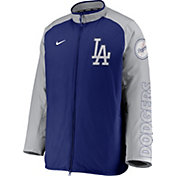 Nike Men's Los Angeles Dodgers Royal Authentic Collection Dugout Full-Zip Jacket