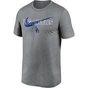 Nike Men's Los Angeles Dodgers Grey Swoosh Legend T-Shirt