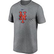 Nike Men's New York Mets Grey Logo Legend T-Shirt