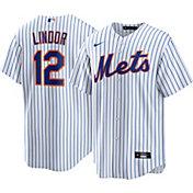 Nike Men's New York Mets Francisco Lindor #12 Cool Base Replica Jersey