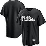 Nike Men's Philadelphia Phillies Black Cool Base Jersey
