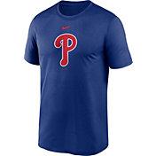 Nike Men's Philadelphia Phillies Blue Dri-FIT Logo Legend T-Shirt