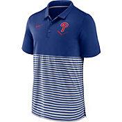 Nike Men's Philadelphia Phillies Stripe White Polo