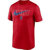 Nike Men's Philadelphia Phillies Red Swoosh Legend T-Shirt