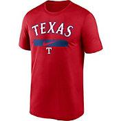 Nike Men's Texas Rangers Red Practice Cotton T-Shirt