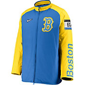 Nike Men's Boston Red Sox Blue 2021 City Connect Dugout Full-Zip Jacket