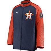 Nike Men's Houston Astros Navy Authentic Collection Dugout Full-Zip Jacket